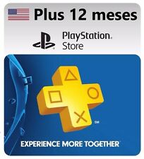 Playstation Plus | Código 1 año | 365 días | 12 meses | PSN | USA | 1 Year Code