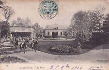 COMPIEGNE 92 le haras timbrée 1906