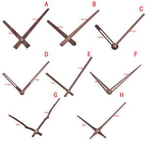 Wooden Pointers DIY Wall Clock Hands 12 inch Clock Needle Quartz Replace P j-wa