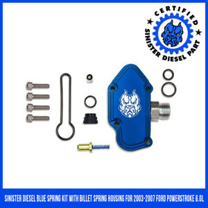 Blue Spring Kit Ford 6.0L Sinister Diesel 2003-2007