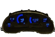 Ford Mustang Digital Dash Panel for 1994-2004 Gauges by Intellitronix Blue LEDs