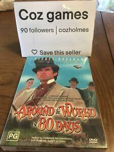 Around the World in 80 Days Pierce Bronson - DVD Rare Australian Box Set Sealed