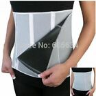 Sauna Slimming Belt Waist Trimmer Body Belly Shaper Device with 5 Zippers Wrap