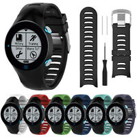 Silicone Wrist Strap Bracelet Replacement Band For Garmin Forerunner 610 Watch