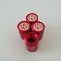ALFA ROMEO METAL SPORTS Valve Dust caps all Cars 7 COLOURS 156 Mito Giulia 159