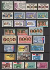 (RP65) PHILIPPINES - 1965 COMPLETE YEAR STAMP SETS. MUH