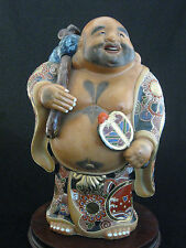 Authentic Kutani Hotei Moriagi Figurine Statue
