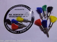 .22 - 5.5mm MILBRO Pointed Darts for Air Rifle - PKT of 20 Soft tail Darts.