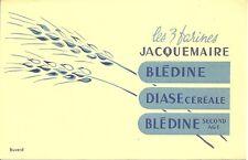 BUVARD JACQUEMAIRE neuf = les 3 farines = BLEDINE/DIASE + 2 épis de blé imprimés