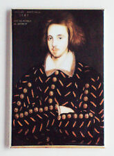 Christopher Marlowe FRIDGE MAGNET (2.5 x 3.5 inches) playwright doctor faustus