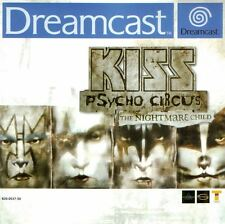 Sega Dreamcast Spiel - KISS Psycho Circus: The Nightmare Child (mit OVP)