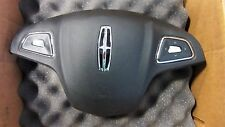 2013 2014 2015  LINCOLN MKZ  MKC DRIVER WHEEL SIDE AIRBAG BLACK NICE