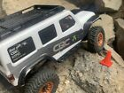 Axial SCX24 Jeep JLU and C10 Side Step Running Boards Rock Sliders - Black