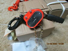 New ListingSeries 603 Lever Hoist - Cm0215 - 1/2 Ton Rated Load 1.5 M - 60215
