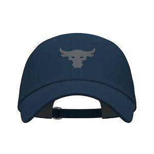 Under Armour Men's Project Rock Hat Johnson Breathable Cotton Cap 1356717-408