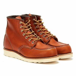 Red Wing Shoes Mens Oro Legacy 6-Inch Moc Toe Boots - (Tan)