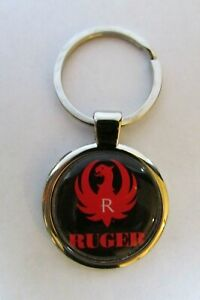 Ruger Keychain , Ruger Logo Key Chain , Ruger key chain