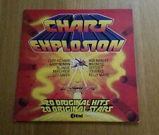 """Chart Explosion"" (1980) by Various Original Artists on vinyl LP"
