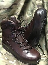 More details for genuine british issue brown cold wet weather iturri boots!worn once!size 10 m