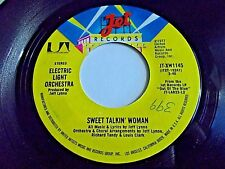 Electric Light Orchestra Sweet Talkin' Woman / Fire On High 45 1977 Vinyl Record
