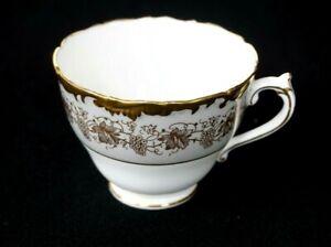 Beautiful Coalport Hazelton Grey Teacup