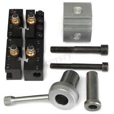 Cambio rapido utensile Post impostato per 7 x10 12 14 Mini tornio tornitura Port