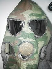 GAS MASK PMK-3 drinking system, With fireproof hood (Mask,Filter,hood,Bag), New