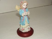 Christmas Around The World Joyful  Angel Statue Standing on a Cloud Singing