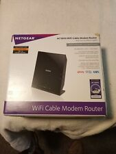 NEW - NETGEAR AC1600 Wifi Cable Modem Router, Model C6250, 802.11ac Dual Band