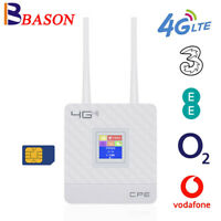 4G LTE Router CPE Mobile WIFI Hotspot Dual Band Sim Card For Vodafone EE O2 3