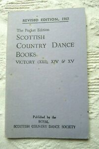 Scottish Country Dance Book Victory (XIII), XIV & XV Revised Pocket Edit