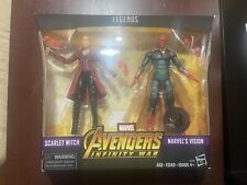 marvel legends Scarlet Witch and Vision 2pk Toyrus exclusive