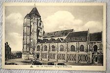 """CPA """" LE TREPORT - L' Eglise St Jacques"""
