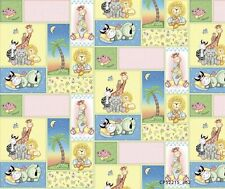 BAZOOPLES SWEET DREAMS PATCH 100% cotton fabric remnant 29""