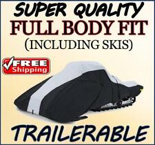 Full Fit Snowmobile Sled Cover POLARIS Trail Touring DLX Deluxe 2005-2009