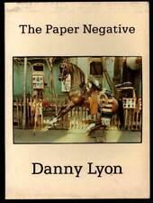 THE PAPER NEGATIVE Danny Lyon Filmmaker 1980 Civil Rights Photographs SCVR BOOK