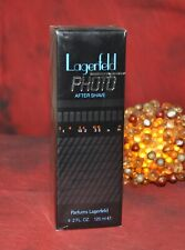 LAGERFELD PHOTO After Shave Lotion 125ml, VINTAGE, VERY RARE, NEW IN BOX, SEALED