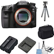 Sony Alpha a99 II DSLR Camera with MINI TRIPOD, DSLR BAG and CLEANING KIT