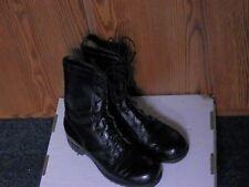 BLACK COMBAT BOOTS VIETNAM MEN SZ 8 REGULAR MARINES USA ARMY GENESCO Nov. 1973