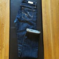 Women's AG Adriano Goldschmied Premiere Skinny Straight Jeans Size 26
