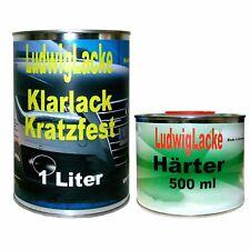 Klarlack 1,5 Liter HS 2K Klarlack SET  für Autolack Lackierer