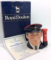 Royal Doulton Las Postman Toby Personaje Jarra D6801 Ltd.Ed Vintage Colección