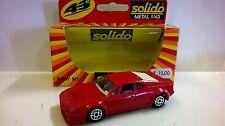SOLIDO 1:43 DIE CAST AUTO BMW M1 ROUGE ART. 1209