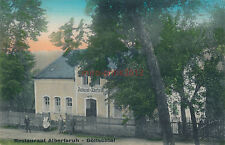 AK, Ansichtskarte, Restaurant Albertsruh, Göltschtal (G)1675