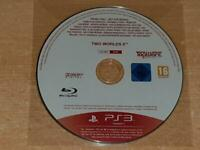 Two World II 2 PS3 Playstation 3 Rare Promo Disc Full Game