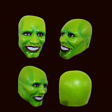FAMOUS GREEN MASK as on Movie Jim Carrey Cosplay Costume Halloween Funny Party