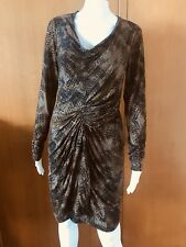 Country Road-Camo Print-Drape Dress-Size  M