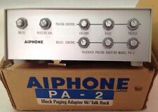 Aiphone Pa-2, Talkback Paging Adapter, Vintage
