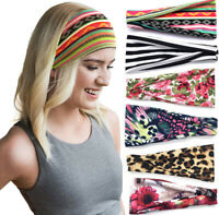 Wide Sport Sweat Sweatband Headband Yoga Gym Stretch Hair Band for Men and Women