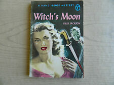 Witch's Moon by Giles Jackson, Handi-Book #82, Mystery 1949